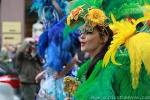 A samba dancer from the carnical