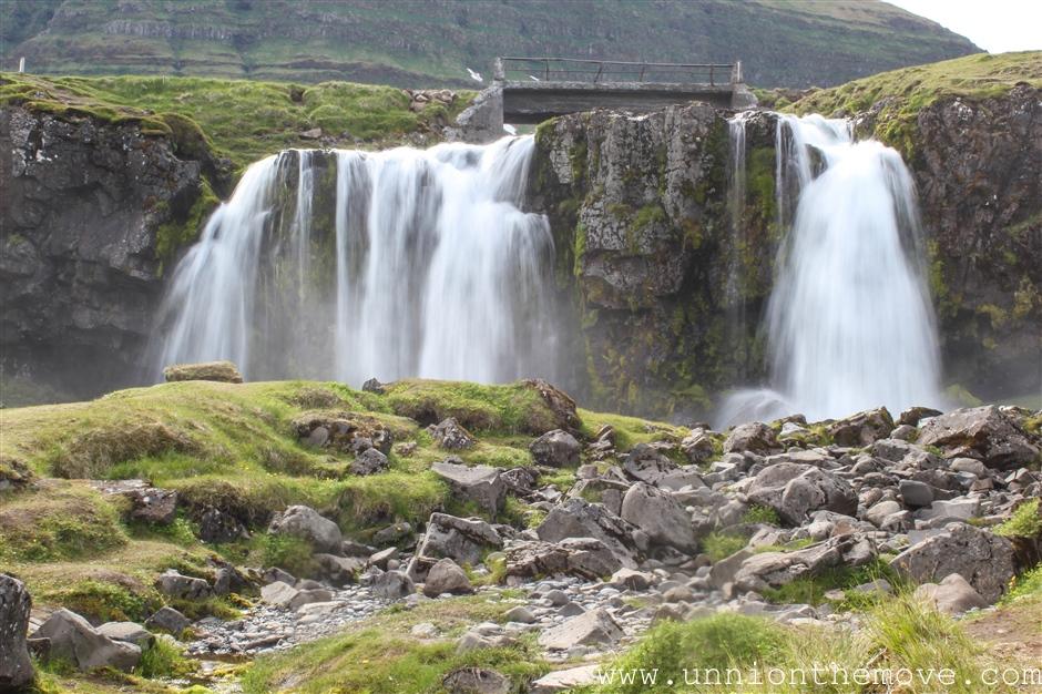 Water fall near Kirkkufell