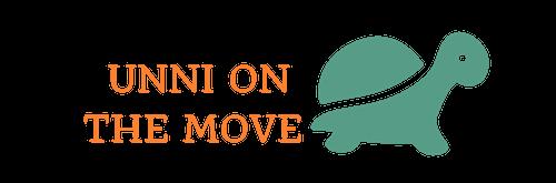 Unni on the move! (Unnikrishnan S Kurup)