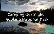 Camping in nuuksio